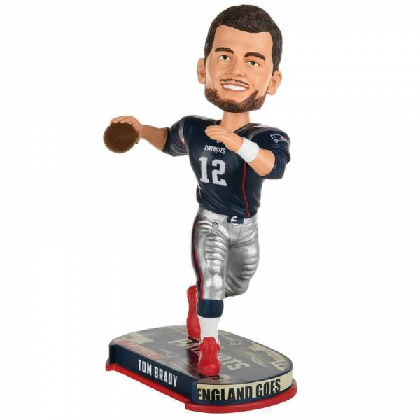 New England Patriots #12 Tom Brady 20cm Bobblehead BHNFHLNPTB