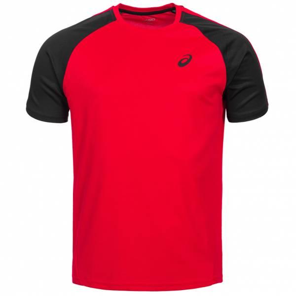 ASICS Herren Running Shirt Block Tee 130802-0600 Rot