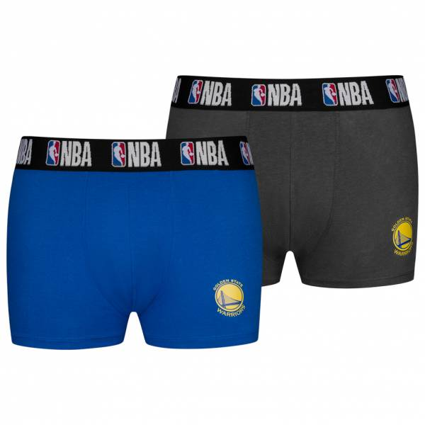 Golden State Warriors NBA Herren 2er Pack Boxershorts 8003712-GSW