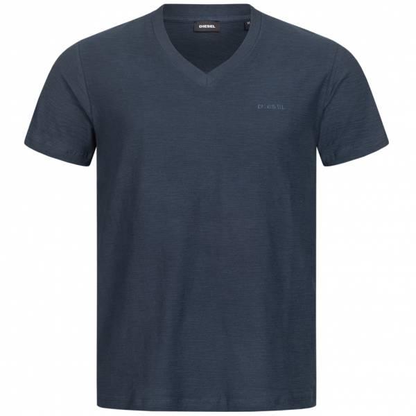 Diesel T-RANIS Herren V-Ausschnitt T-Shirt 00SH6A 0QAQU-81E