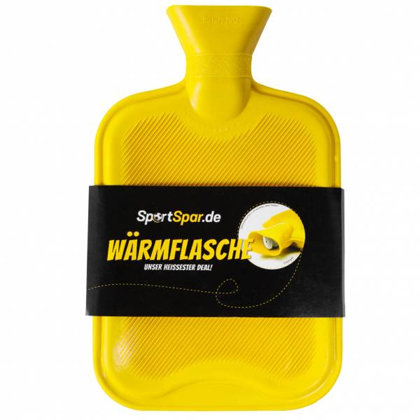 "Sportspar.de ""CouchPotato"" Borsa dell'acqua calda giallo"