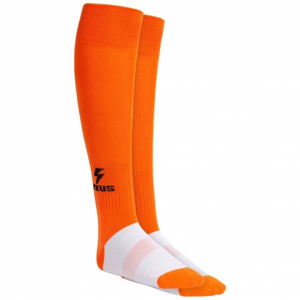Zeus Calza Energy Calzettoni da calcio arancione
