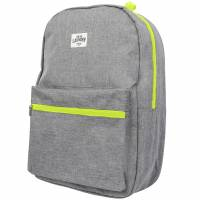 Tokyo Laundry Flash Canvas Backpack 1W13292 Neon Yellow