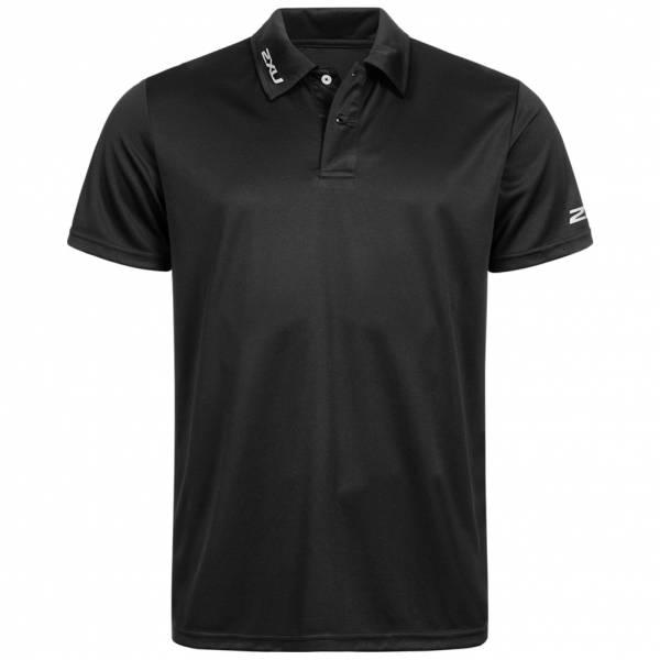 2XU Event Herren Polo-Shirt MR3208a-BLK-BLK