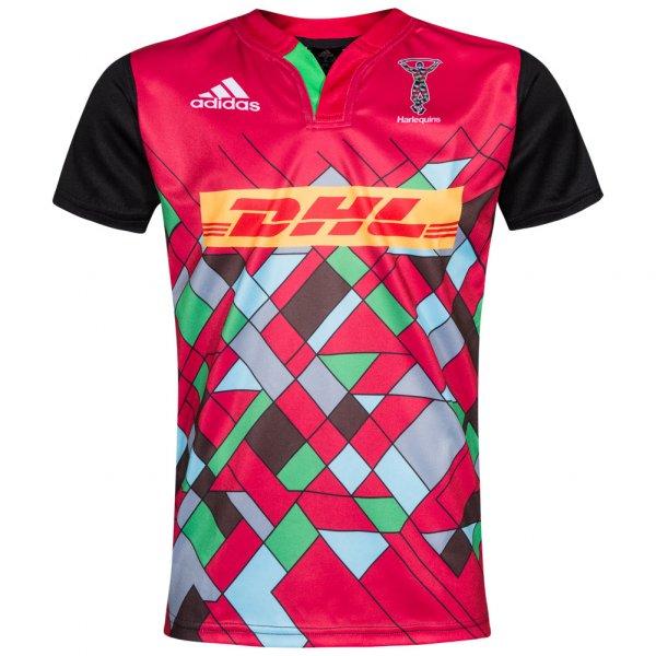 Harlequins Rugby Union adidas Kinder Trikot S21120