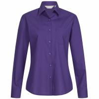 RUSSELL Longsleeve Poly Cotton Poplin Women Shirt 0R934F0-Purple