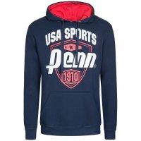 PENN US Sports Herren Hoody Kapuzen Sweatshirt PEN0497-NAV