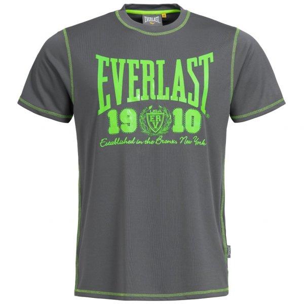 Everlast Big Logo T-Shirt charcoal/lime EVR8850