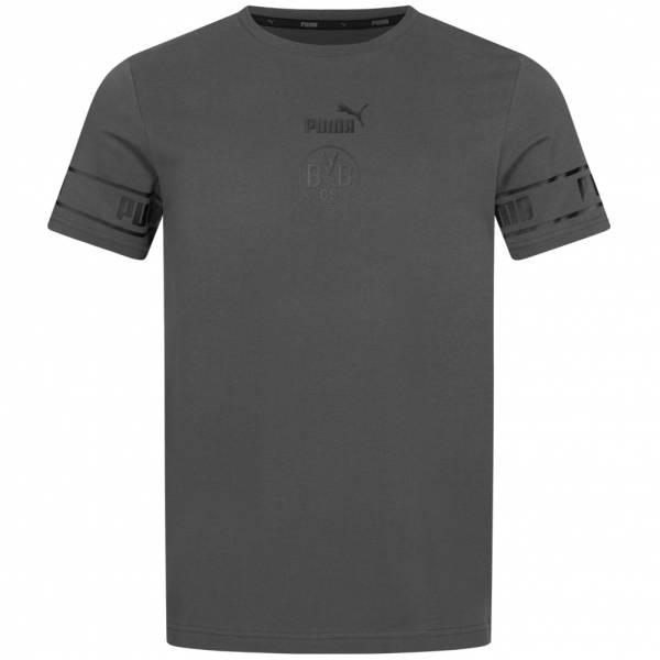 BVB Borussia Dortmund PUMA Culture Herren Fan T-Shirt 758107-05