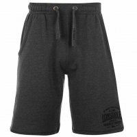 Lonsdale Herren Sweat Shorts 632244 Grey Charcoal M