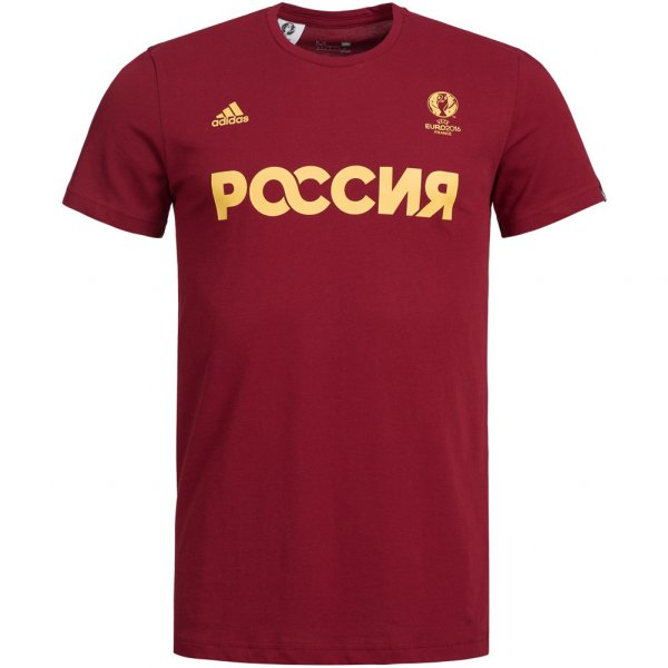 Russland adidas Herren Fan T-Shirt AI5611