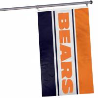 Chicago Bears NFL horizontale Fan Flagge 1,52m x 0,92m FLGNFHRZTLCB