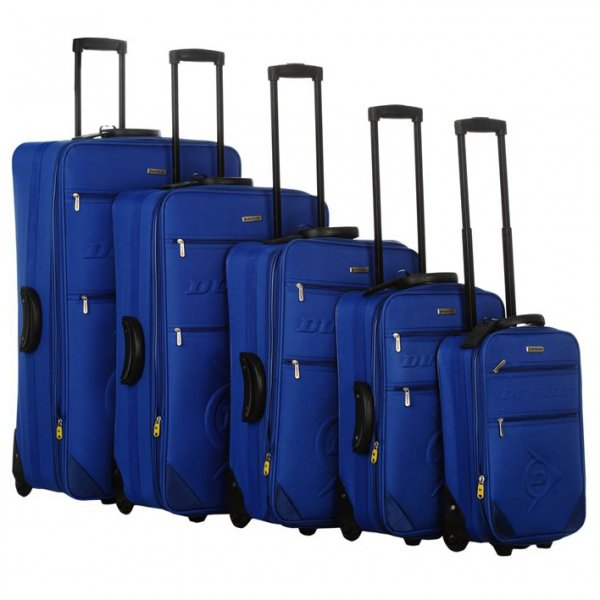 Dunlop Koffer blau