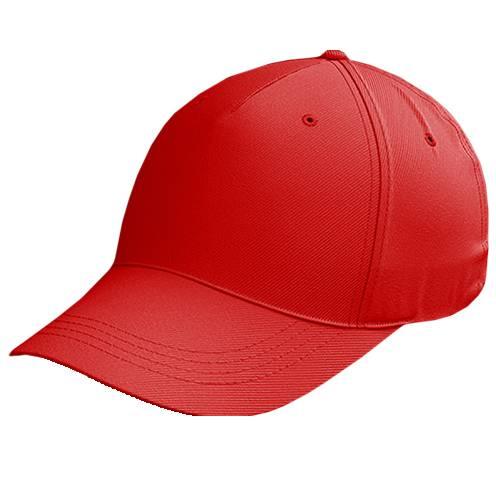 Zeus Baseball Kappe Rot