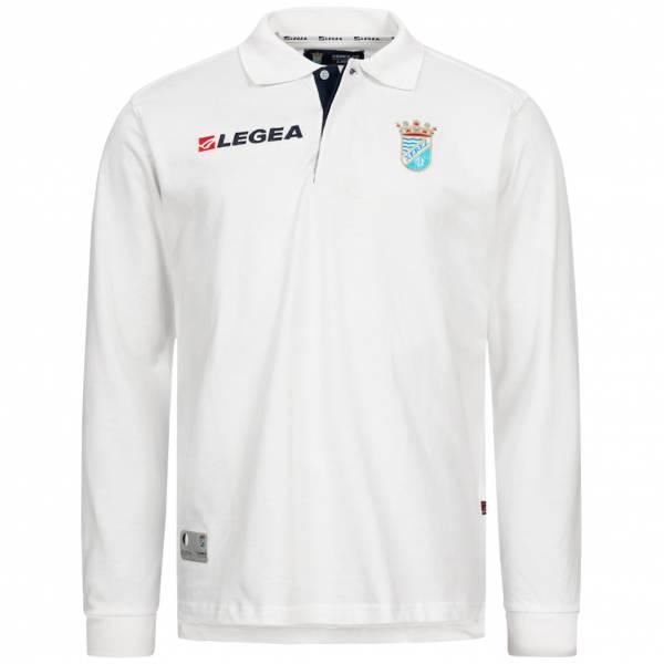 Xerez Club Deportivo Legea Reprezentacyjna koszulka polo z długim rękawem biały