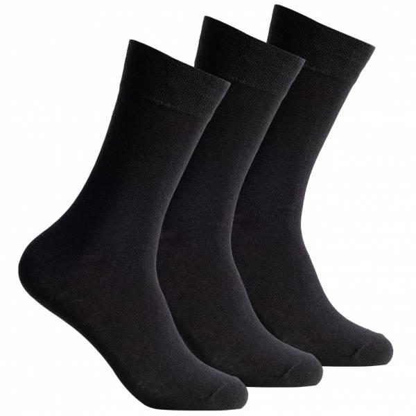 SportSpar Heren Comfort Sokken 3 paar 174228 Zwart