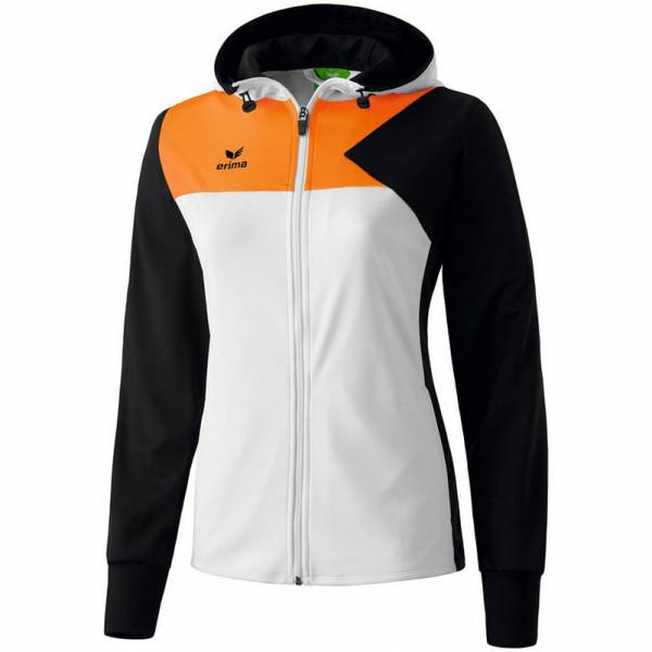 Erima Premium One Damen Trainingsjacke mit Kapuze 107452