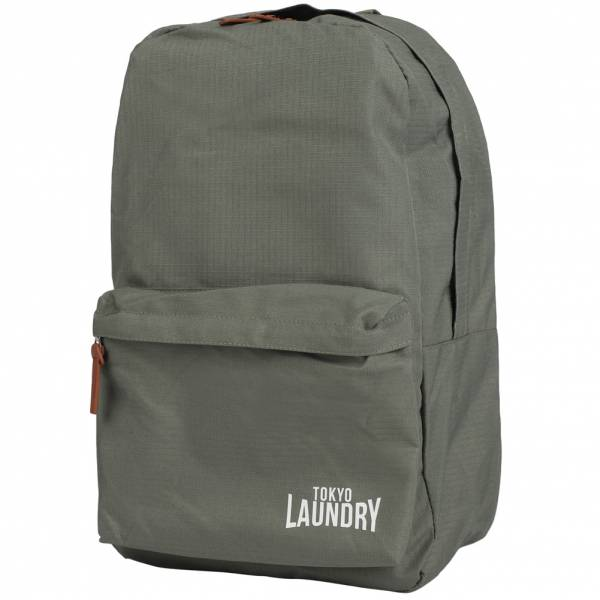 Tokyo Laundry Cross Avenue Canvas Rucksack 1W11135 Grey