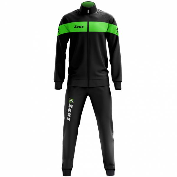 Zeus Tuta Apollo Men Tracksuit Black Neon Green