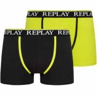 REPLAY Boxer Herren Boxershorts 2er-Pack 101109-N091