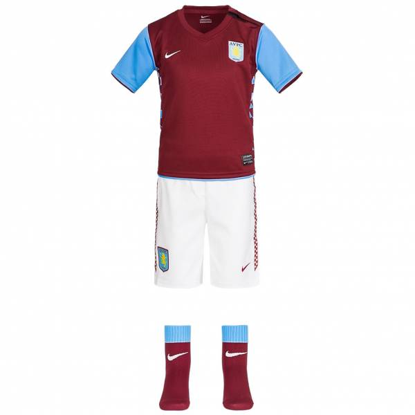Aston Villa Nike Set neonato mini kit 381810-677