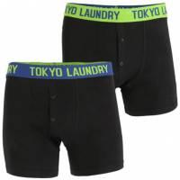 Tokyo Laundry Harden 2 Herren 2er Pack Boxershorts 1P10007R