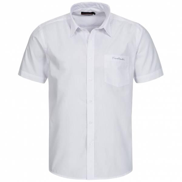 Chemise à manches courtes Homme Pierre Cardin blanche