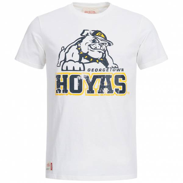 Georgetown Hoyas T-Shirt American Freshman Washington DC weiß