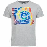 Sonneti Men T-shirt Molecule gray