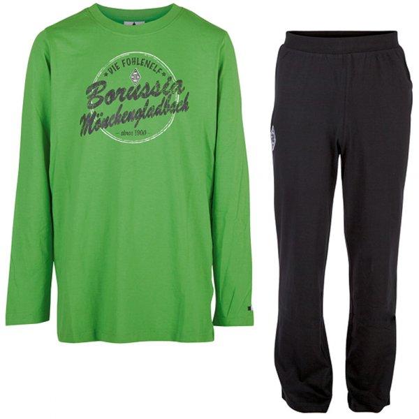 Borussia Mönchengladbach Kinder Pyjama Schlafanzug 435671J-005
