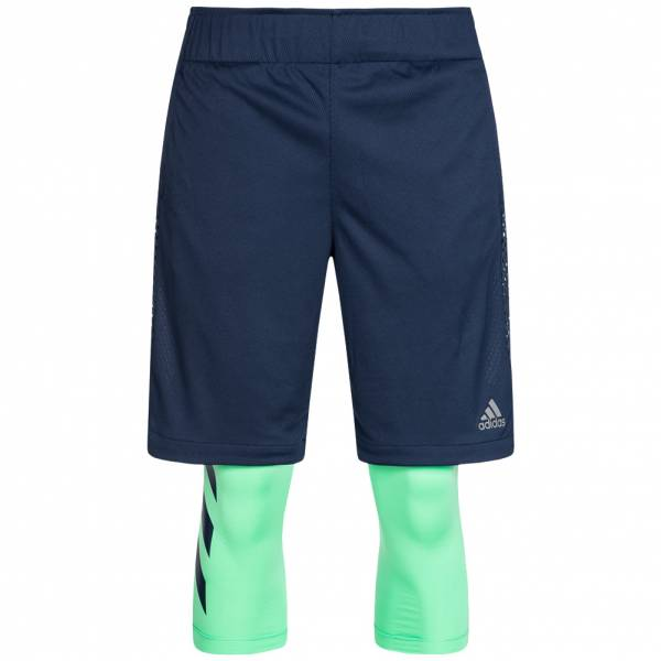 adidas Electric Two-in-One Herren Baskeball Shorts CE7001