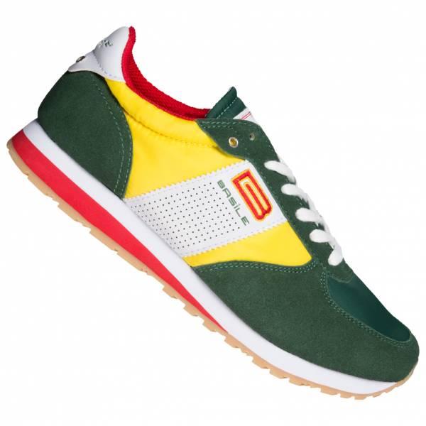BASILE Retro Bicolor Herren Sneaker BAM91350203