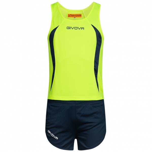 Givova Kit Boston Atletiekpak Singlet met short KITA02-1904