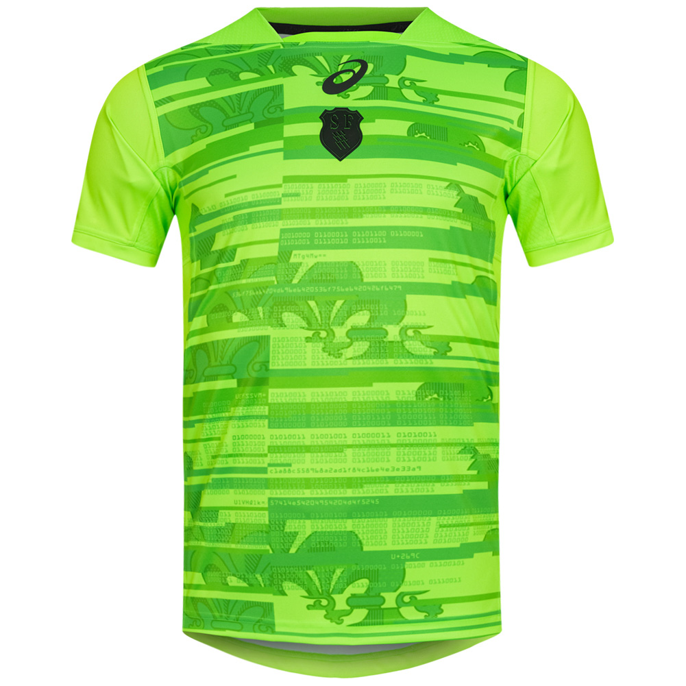 Maglia da cross country ASICS Away Rugby del Sud Africa 123327SR 1020