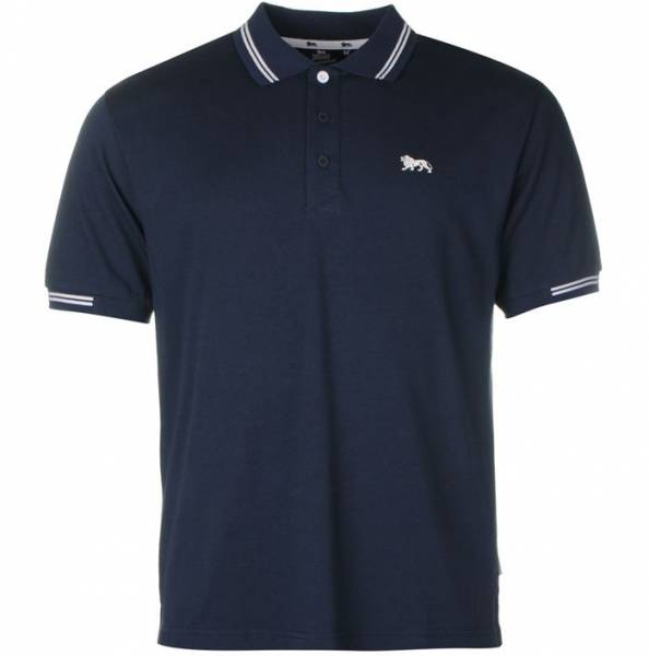 Lonsdale Herren Classic Polo-Shirt navy