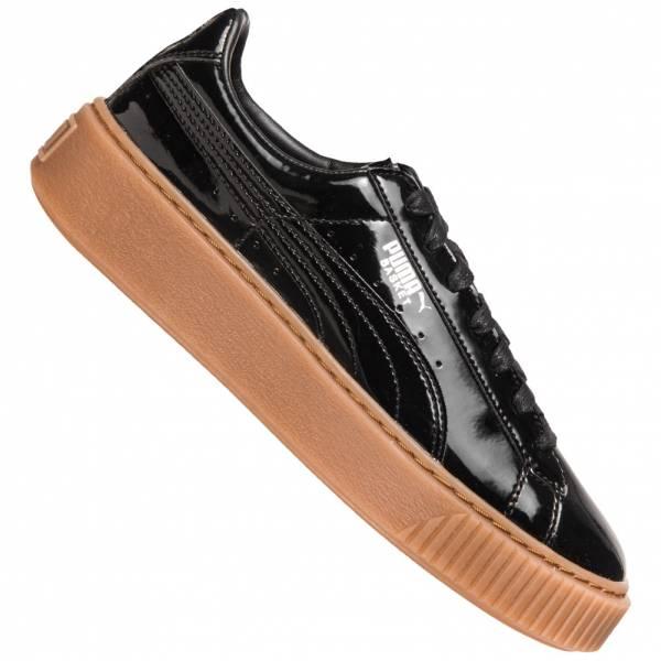 be89b1bf15e PUMA Basket Platform Patent Women s Sneaker 363314-08