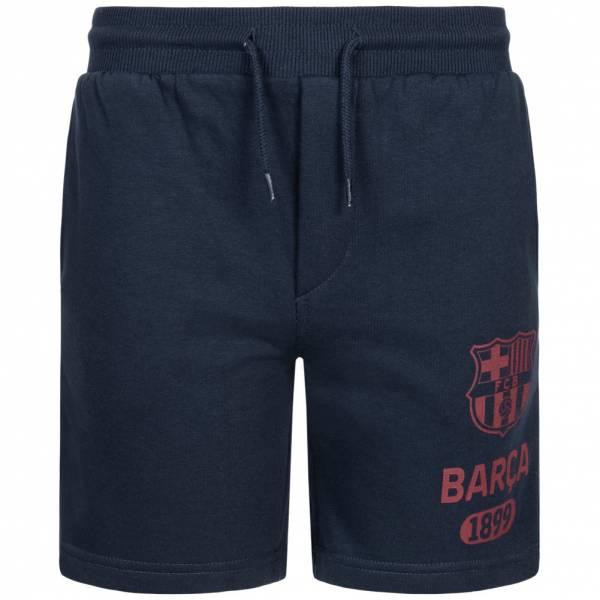 FC Barcelona 1899 Kinder Bermuda Sweat Shorts FCB-3-270