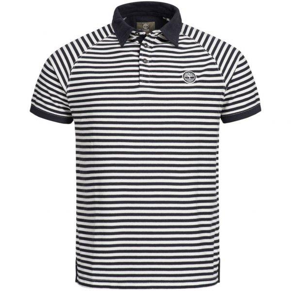 Timberland Herren Raglan Polo Shirt gestreift 6016J-130