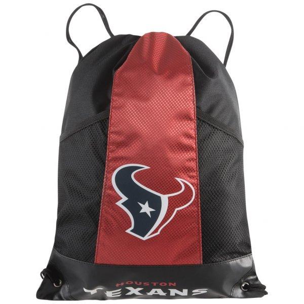 Houston Texas NFL Drawstring Backpack Rucksack Turnbeutel REL0314-00001