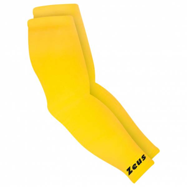 Zeus Couvre bras Manchettes de compression élastiques jaune