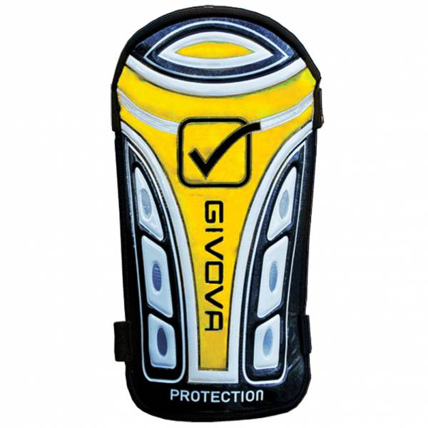"Givova Shinguards ""Parastinco Protection"" black / yellow"