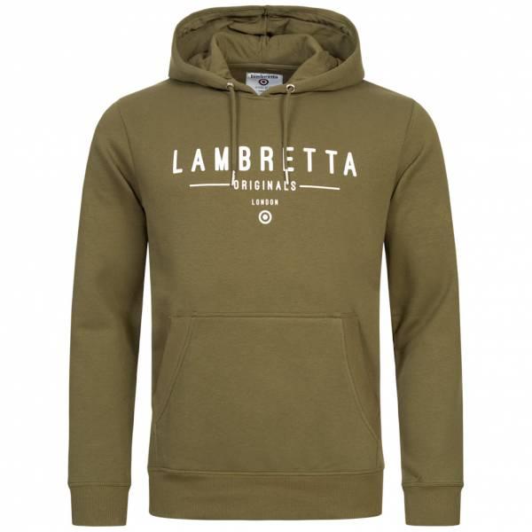Lambretta Hoodie Herren Kapuzen Sweatshirt SS9881 Olive