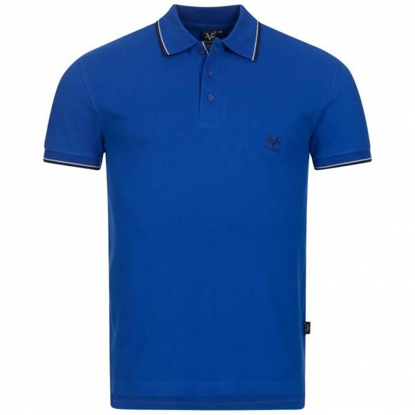 19V69 Versace 1969 Costina Herren Freizeit Polo-Shirt VI20SS0005B royal