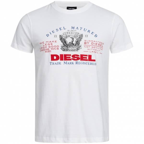 Diesel Heritage Hombre Camiseta 00SCQ6 0091B-100