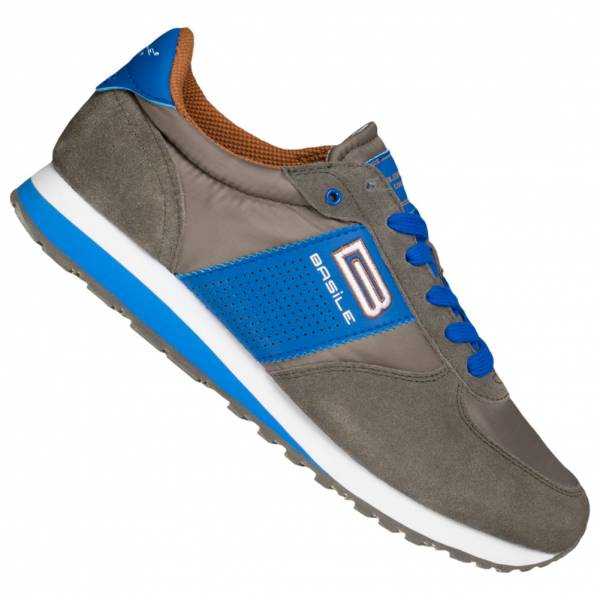 BASILE Gris Herren Sneaker BAM91350002