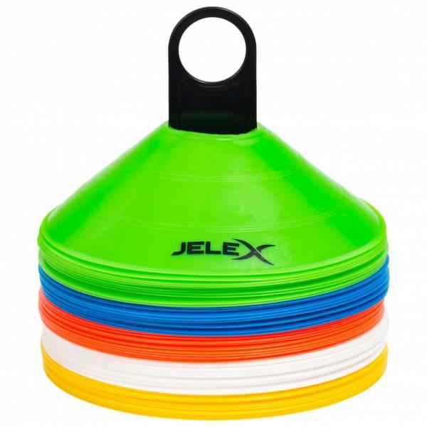 JELEX Excellence Markierungs Trainingshütchen 50 Stück