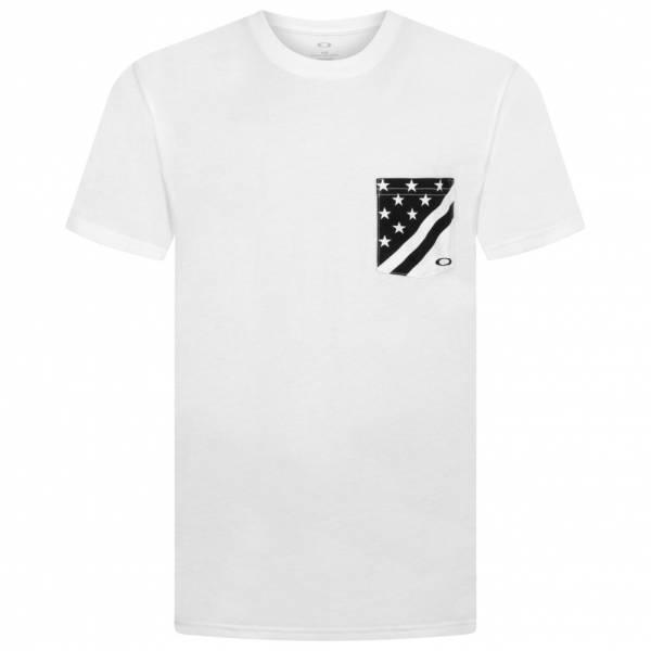 Oakley 50 Flag Pkt Herren T-Shirt 456856A-100
