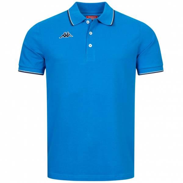 Kappa Woffen Herren Polo-Shirt KA-303IA blue