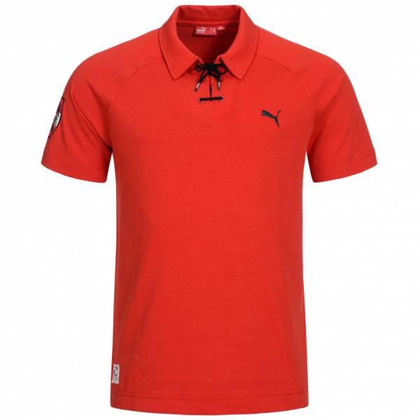 Österreich PUMA Lace Up Polo-Shirt Herren 733824-02
