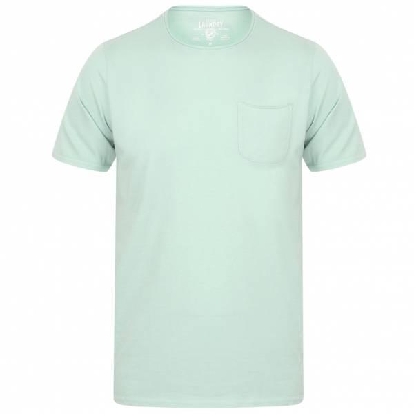 Tokyo Laundry Zac Crew Neck Pocket Herren T-Shirt 1C10666B Mint
